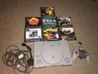 PS1 & 7 games. Top working condition!