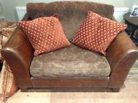 Love seat love chair leather armchair