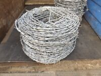 barb wire for fencing