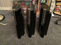 For Sale PS3 Consoles Great Xmas Presents
