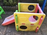 Little tykes toy cube with slide