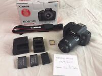 Canon EOS 750D with Extras only a few months old.