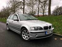 2002/02 REG BMW 325I SE AUTOMATIC ESTATE LEATHERS **£1395.00 **