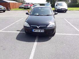 Vauxhall Corsa 1.4 sxi low miles full mot great little car