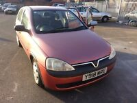 2001 corsa 1.2 milage 92843 very clean