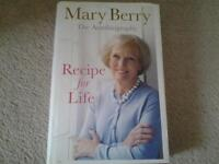 Mary Berry Recipe for life autobiography