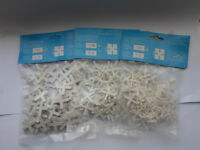 joblot 500x Packs 100 tiles spacers in 3 sizes wholesale clearance stock