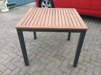 Teak wooden outdoor garden table