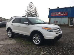 2013 Ford Explorer Limited -NAV - LEATHER - ROOF - 7PASS