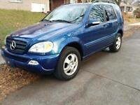 Mercedes ML320 luxury AWD