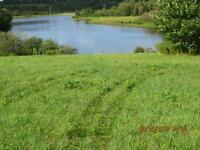 REDUCED PRICE!! TWO WATERFRONT LOTS FOR SALE ON POMQUET HARBOUR