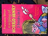 Horrid Henry 3 books in 1