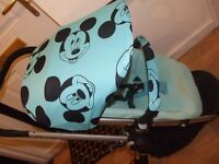 quinny buzz 3 in michey mouse covers