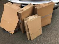 Approx 40 cardboard boxes - £20 - Byfleet