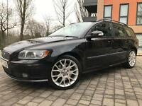Volvo V50 2.4 D5 Sport Auto ++ RARE MODEL ++ IMMACULATE CONDITION ++ not vw passat touring ford bmw