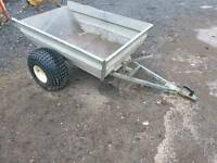 Quad atv logic tipping trailer farm stables tractor