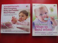 Annabel Karmel Baby Weaning Books