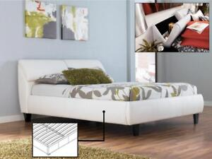 GUEST BED - FOR RUSTIC WOOD OR TUFTED UPHOLSTERED FABRIC HEADBOARDS - VISIT KITCHEN AND COUCH (IF91)