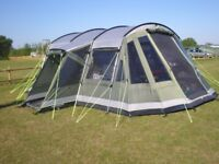 Outwell montana 6p tent with front extension