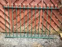 Quality Wrought Iron Railing Fencing House Garden Terrace Landlord Rental