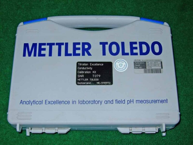 Mettler Toledo Titration Excellence Conductivity Calibration Kit