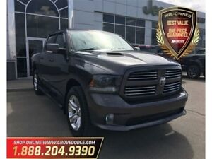 2015 Ram 1500 Sport| 4X4| Leather| Sunroof| AUX