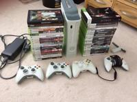 Xbox 360 bundle with 36 games