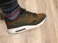 Men's Nike Air Max 1 Knit Trainers Sneakers UK 8 EU 42
