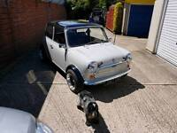 Classic mini 998cc 1987 ground up restoration