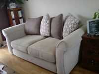 Large 2-3 seater sofa and a larger 3-4 seater sofa, both in excellent condition
