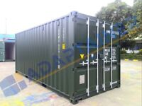 20ft new build shipping container in Birmingham (can also hire out).