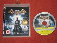 Batman Arkham Asylum PS3 Game, Case & Disc PAL PlayStation 3