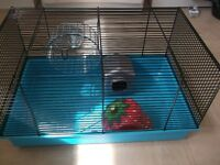 Small Hamster Cage, used but in good condition