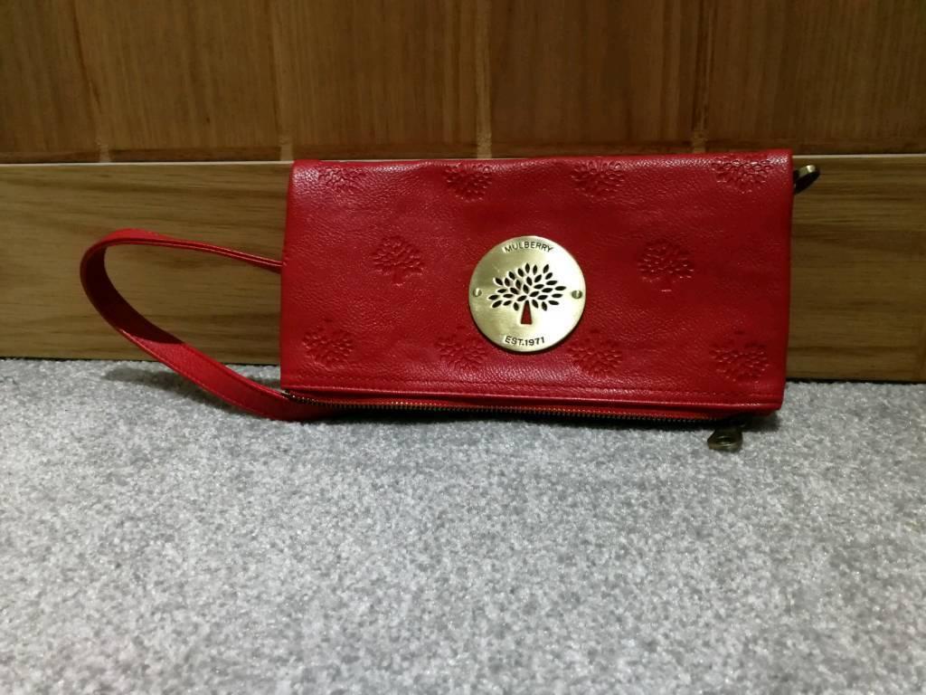 Red Mulberry Handbag