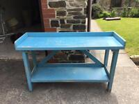 Old French console table, lovely & original