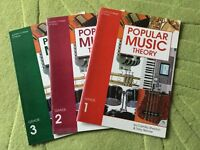 Popular music theory grades 1 to 3 guitar books London College of music