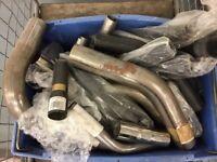 Massive joblot of exhaust components