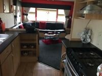 3 bed caravan at Craig Tara cancellation mon 5th sept to fri 9th