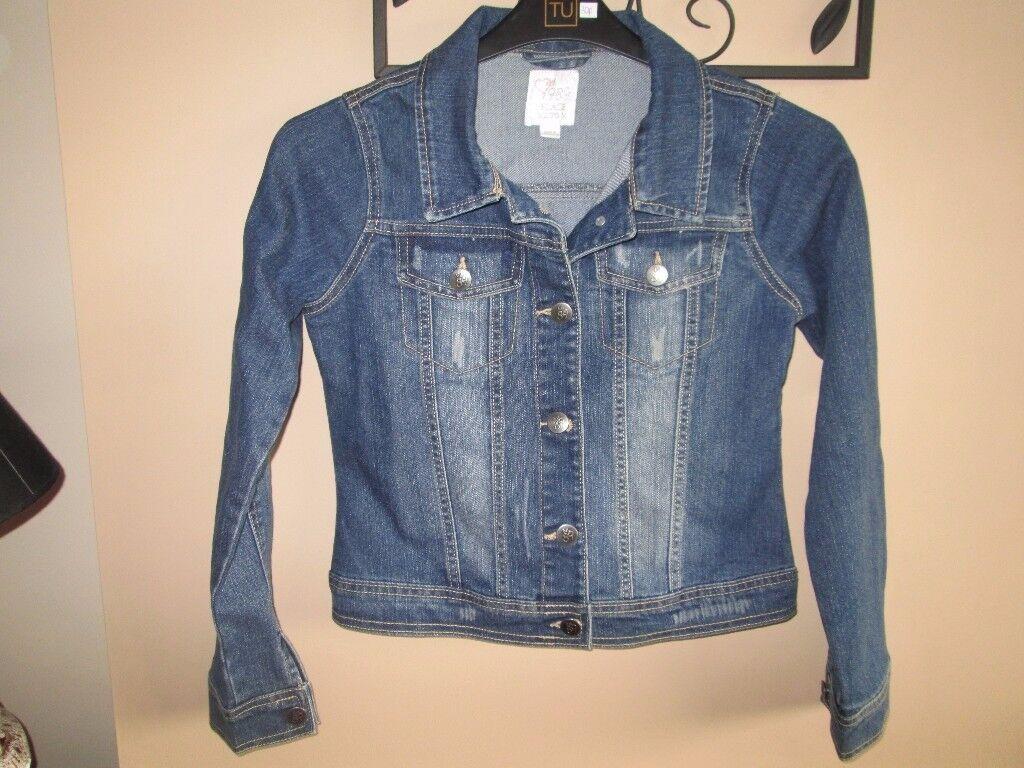 Girls Denim jacket AGE 14