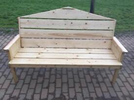 New garden bench for sale