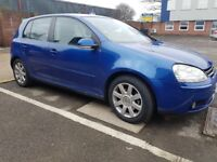 VW Golf 2.0 TDI Diesel for + touch audio player and subwoofer