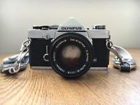 Olympus OM-1N with 50mm Zuiko lens