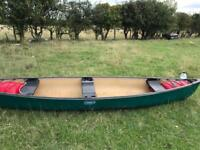Coleman 16ft canoe