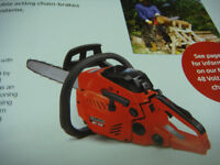 MOUNTFIELD PETROL CHAINSAWS 16IN OREGON BAR AND CHAIN QUALITY RELIABLE MACHINE