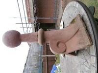 Finial - terracotta