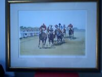 LIMITED EDITION HORSE RACING PRINT BY KEEN