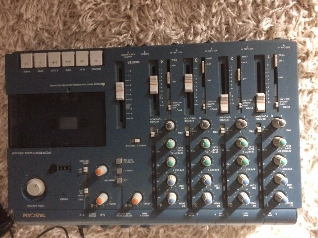 Tascam 414 MkII Porta Studio Multitrack Recorder