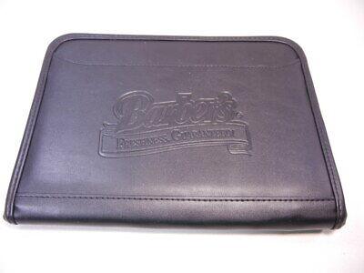Gemline Leather Padfolio Notebook Portfolio Organizer