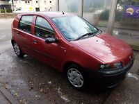 Fiat Punto 1.2 2002 Long MOT No advisories