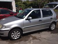 VW Polo well maintained and reliable, Alloy wheels, clean and tidy, NO rust.